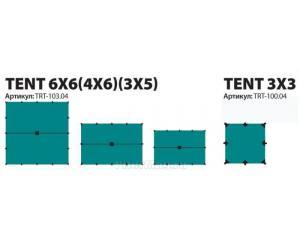 Тент Tramp 4x6