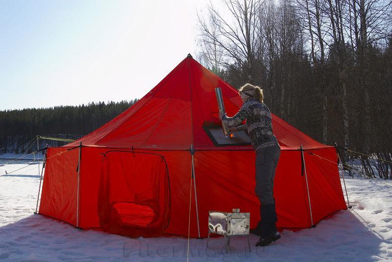 Тенты для зимних палаток