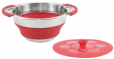 Outwell Collaps Pot w/lid 2.5L Red [650206]