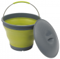 Collaps Bucket w/lid Green [650224]