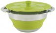 Outwell Collaps Pot w/lid 2.5L Green [650124]